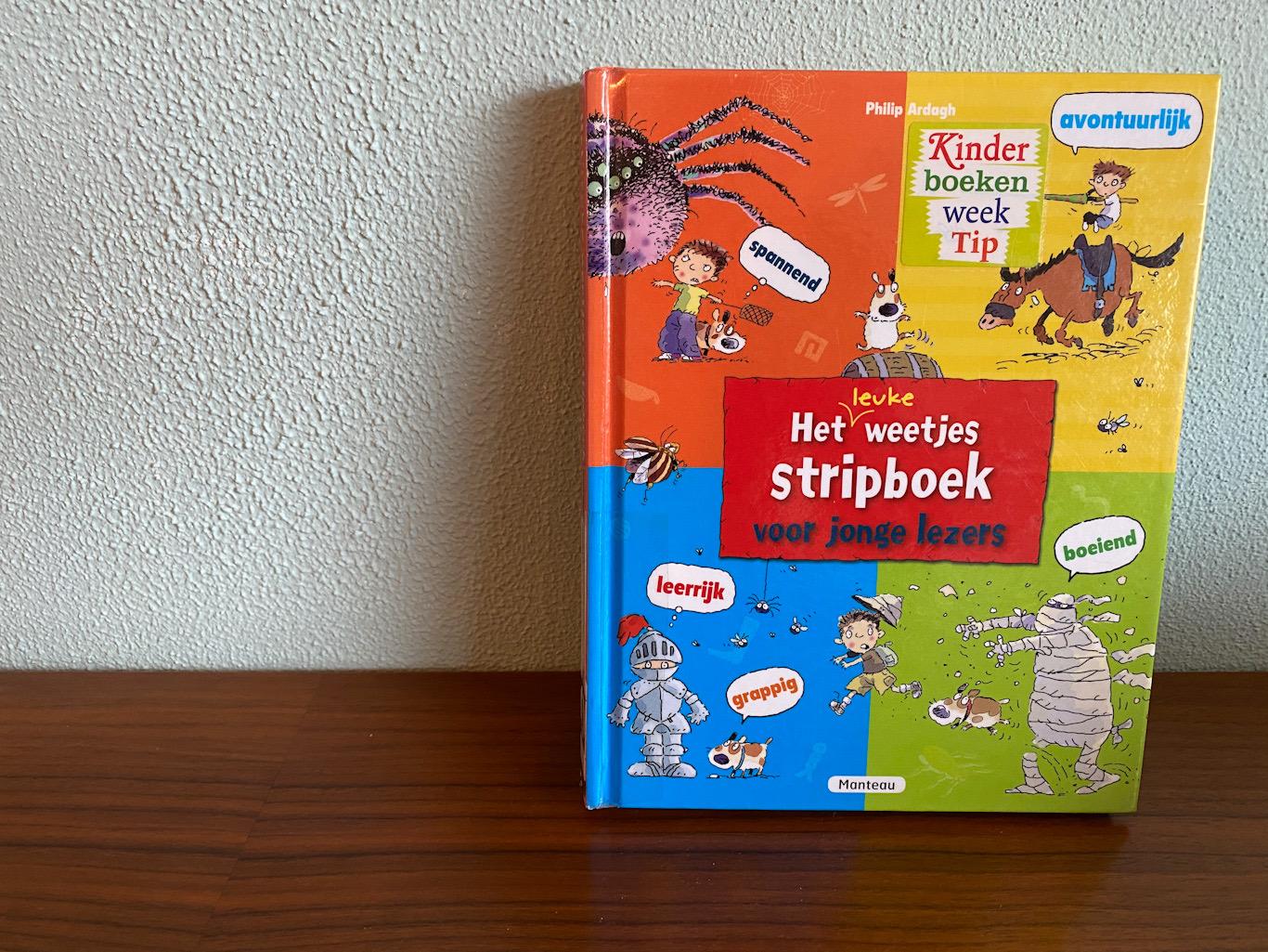 Recensie het Weetjesstripboek voor jonge lezers